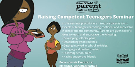 Seminar - Raising Competent Teenagers tickets