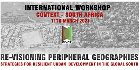 Workshop 2 : PIVOT - An  International Workshop - Focus - South Africa tickets