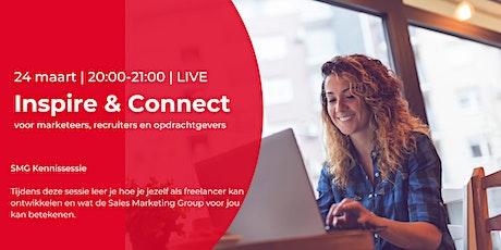 Inspire & Connect LIVE | 24 maart | Excelleren als freelancer tickets