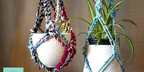 Happy Mondays: Make a macrame plant hanger tickets