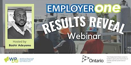 EmployerOne 2021 Results Reveal Webinar Tickets