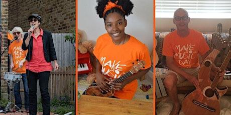 Make Music Day Music Ambassadors - Volunteer Training tickets