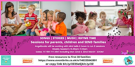 Storytelling, Songs and Rhyme Time tickets
