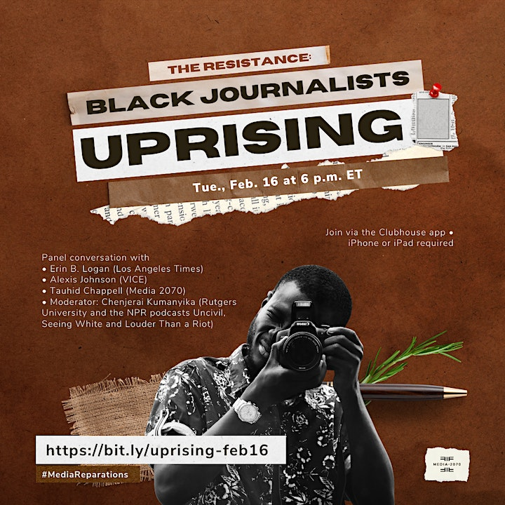 The Resistance: Black Journalists Uprising in Media image