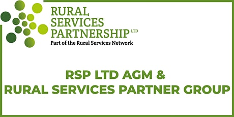 RSP Ltd AGM and Partner Group Meeting tickets
