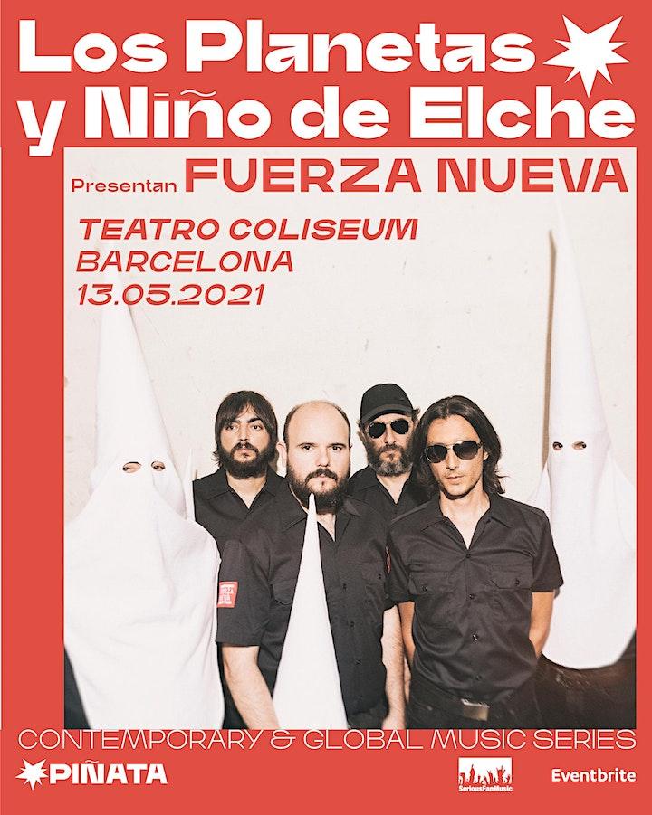 Imagen de SOLD OUT! LOS PLANETAS y NIÑO DE ELCHE Presentan FUERZA NUEVA