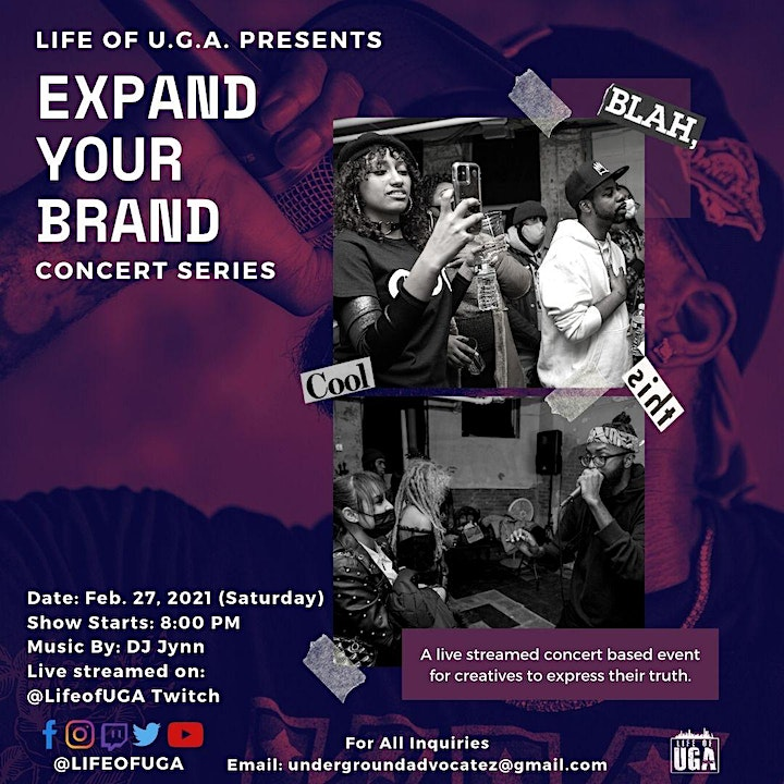 Expand Your Brand Concert Series (Live Streamed) image