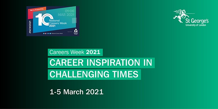 (Virtual) Careers Week 2021 - Career Inspiration in Challenging Times image