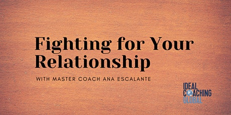 Fighting for Your Relationship tickets