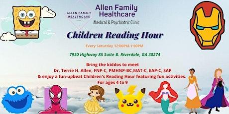 Children Reading. Hour tickets