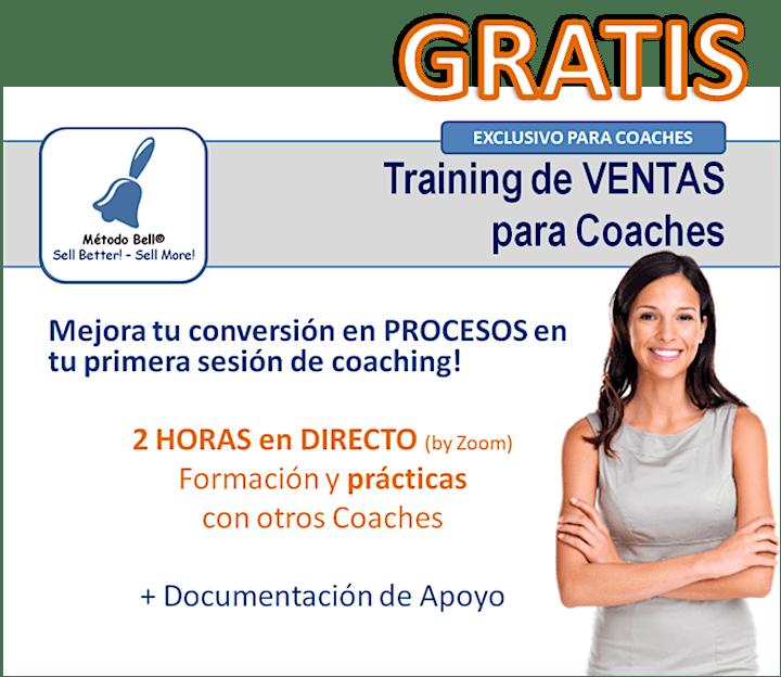 Imagen de Training en VENTAS para Coaches Profesionales  2021