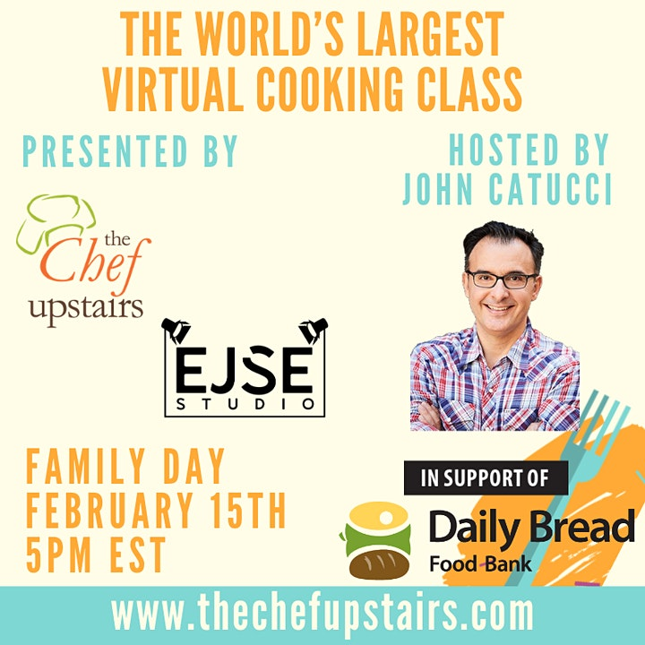 World's Largest Virtual Cooking Class in Support of Daily Bread Food Bank image