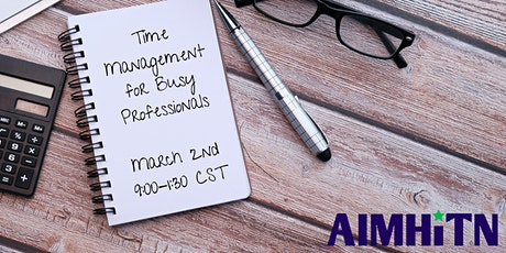 Time Management for Busy Professionals tickets