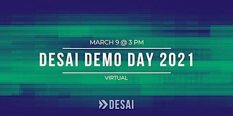 Desai Accelerator Demo Day Spring 2021 (Virtual) tickets