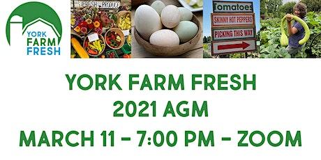 York Farm Fresh AGM tickets