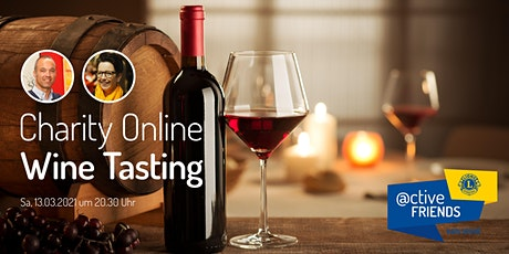 Charity Online Wine Tasting by Lions @ctive Friends tickets