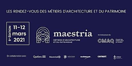 5e édition | Les Rendez-vous Maestria 2021 | Événement virtuel billets