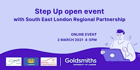 Step Up open event with South East London Regional Partnership tickets