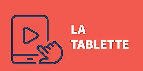 Tablette Android (niveau 1) : Mieux utiliser la tablette billets