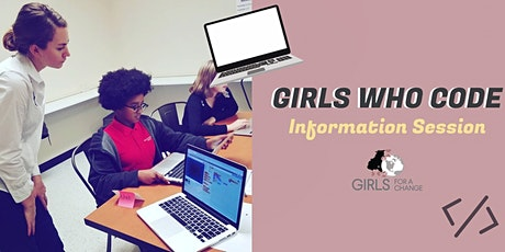 Spring Information Session for Girls Who Code tickets