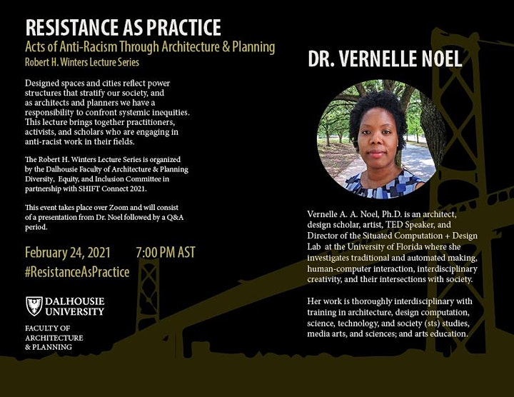 Dr. Vernelle Noel on Resistance as Practice - Robert H. Winters Series image