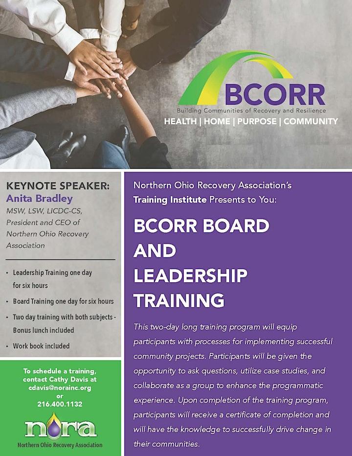 Akron BCORR Leadership Training  (Free) image