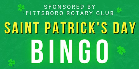 St. Patrick's Day Bingo! Virtual Fundraiser for Pittsboro Rotary tickets