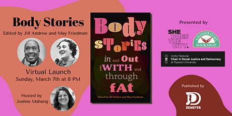 Body Stories virtual book launch tickets