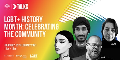 The Prince's Trust Talks: LGBT+ History Month - Celebrating the Community tickets