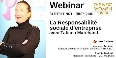 La responsabilité sociale d'entreprise, mardi 23 février 2021 billets