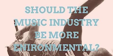 Siren Digital - Should the music industry be more environmental? biglietti