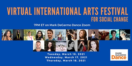 MDD's Virtual International Arts (VIA) Festival for Social Change tickets