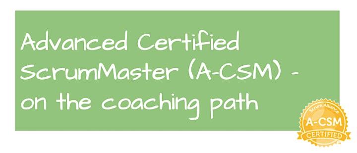 Advanced Certified ScrumMaster | A-CSM | deutsch | 1:1 Mentoring | flexibel: Bild