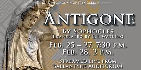 Antigone by Sophocles tickets
