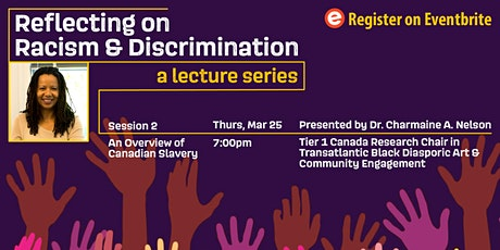 Reflecting on Racism & Discrimination: An Overview of Canadian Slavery tickets
