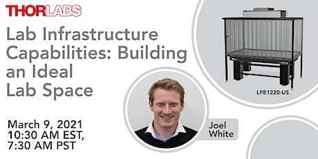 Lab Infrastructure Capabilities: Building an Ideal Lab Space tickets