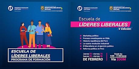 """PROGRAMA DE FORMACIÓN """"ESCUELA DE LÍDERES LIBERALES"""" FNF - UNMSM entradas"""