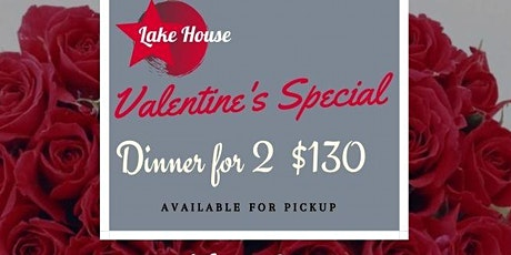 Lake House  Valentine's Day Dinner for 2 tickets