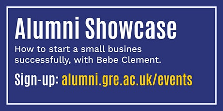 How to start a small business successfully with Bebe Clement tickets