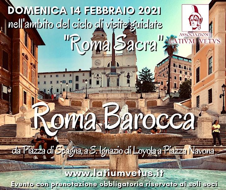 Immagine Roma Sacra, Visita guidata alla Roma barocca