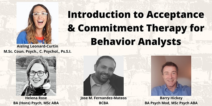 Intro to Acceptance & Commitment Therapy for Behavior Analysts | 12  CEUs image