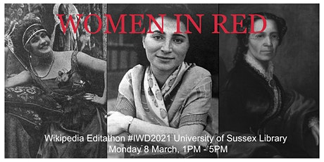 Women in Red Wikipedia Editathon #IWD2021 tickets