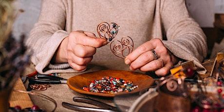 Sterling Silver Wire Earrings tickets