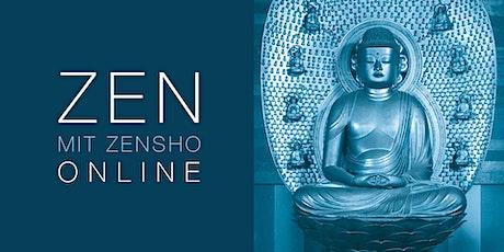 Online Zen-Abend mit Vortrag von Zen-Meister Zensho Tickets