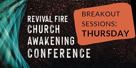 Church Awakening Conference 2021 Breakout Registration - SESSION ONE tickets