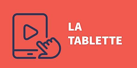 Tablette iPad (Niveau 1 ) - Mieux utiliser la tablette billets