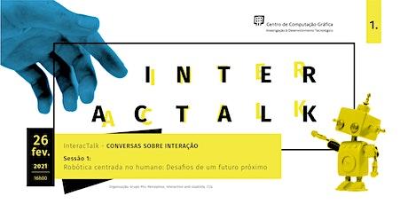 Robótica Centrada no Humano: Desafios de um futuro próximo bilhetes