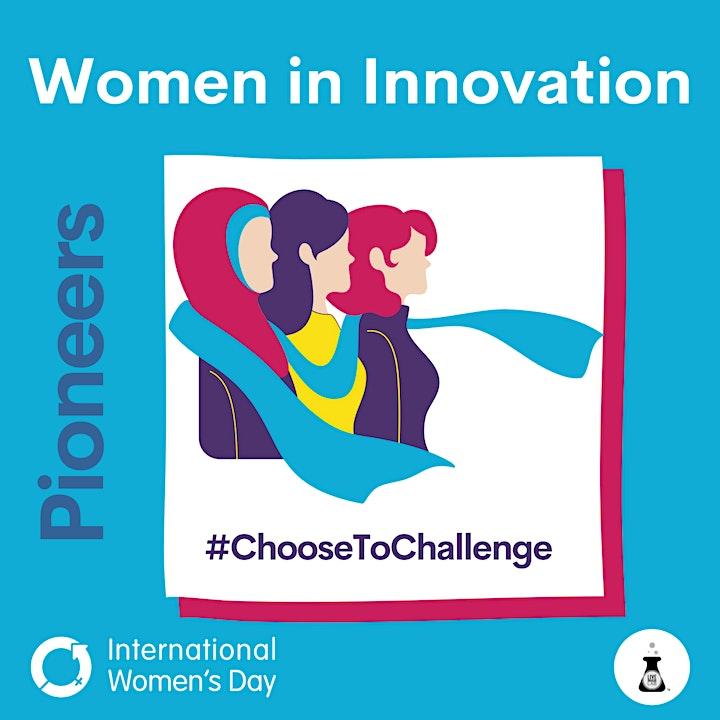 Pioneers Women in Innovation Panel image