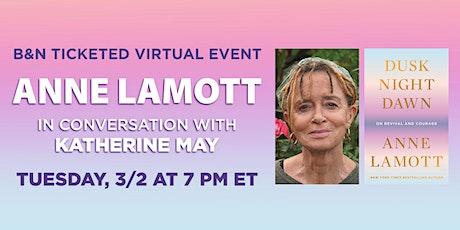 B&N Virtually Presents: Anne Lamott discusses DUSK, NIGHT, DAWN tickets