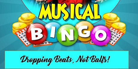 """80's &90's Throwback Musical Bingo:  """"We're Dropping Beats, Not Balls"""" tickets"""
